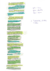 """Drehbuch performative Worte zu """"geschrieben steht nichts hinter uns"""""""