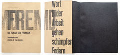 Bucheinband «Die Poesie des Fremden»
